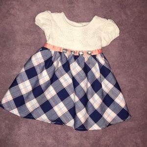 Adorable plaid youngland dress